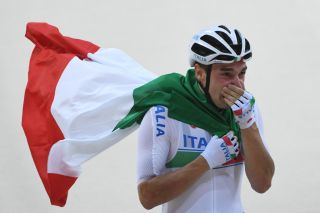 Elia Viviani was Italy's gold medal hero in the Omnium at the 2016 Rio Olympics