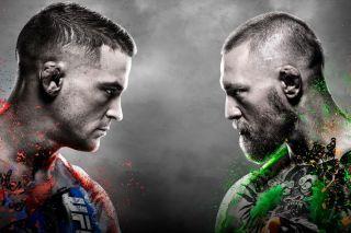 UFC 257 Poirier McGregor 2 Promo Banner