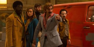 Sharlto Copley Brie Larson Armie Hammer in Free Fire