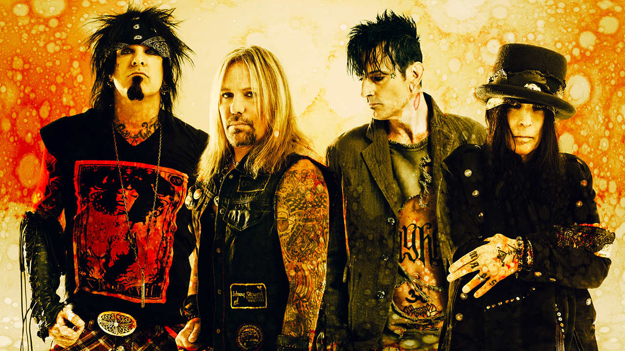 Listen to Motley Crue's new tracks Ride With The Devil and Crash And Burn