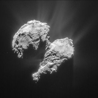Comet 67P/Churyumov-Gerasimenko, Seen By Rosetta