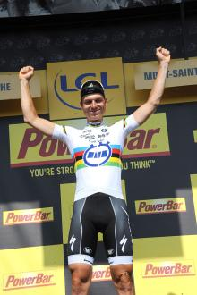 Stage winner Tony Martin (Omega Pharma Quick Step)