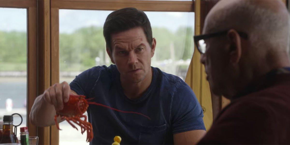 lobstah in the Spenser Confidential 2 sequel ending scene.
