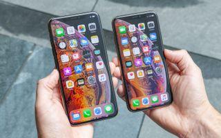 Two iPhones.