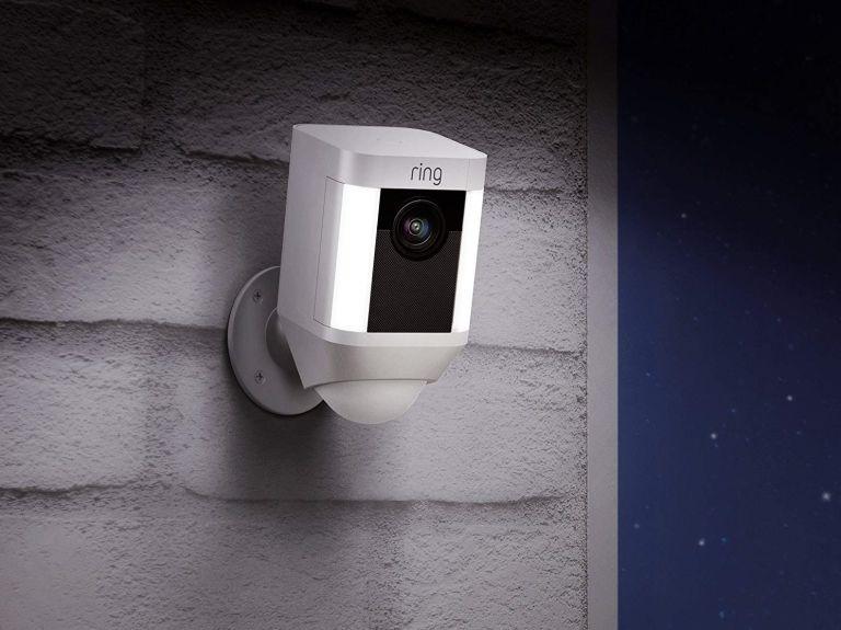 best security cameras: Ring spotlight