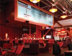 Casino uses AV for Dramatic Impact