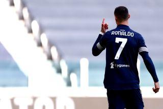 Christiano Ronaldo of Juventus