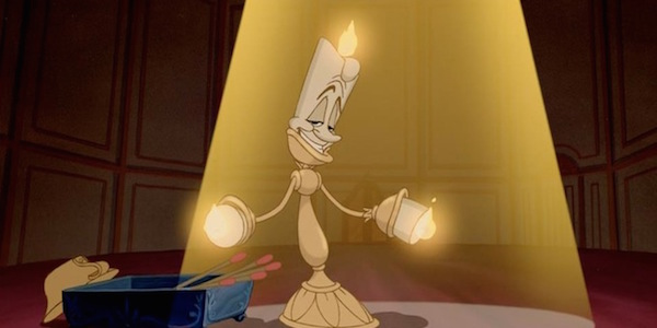 Beauty and the Beast character Lumiere