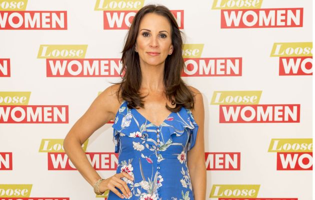 loose women host andrea mclean marries for a third time. Black Bedroom Furniture Sets. Home Design Ideas