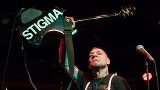 Agnostic Front guitarist Vinnie Stigma