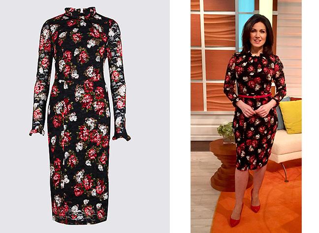 b7811e755fdc Susanna Reid's Dresses: Where does the GMB Presenter buy her frocks