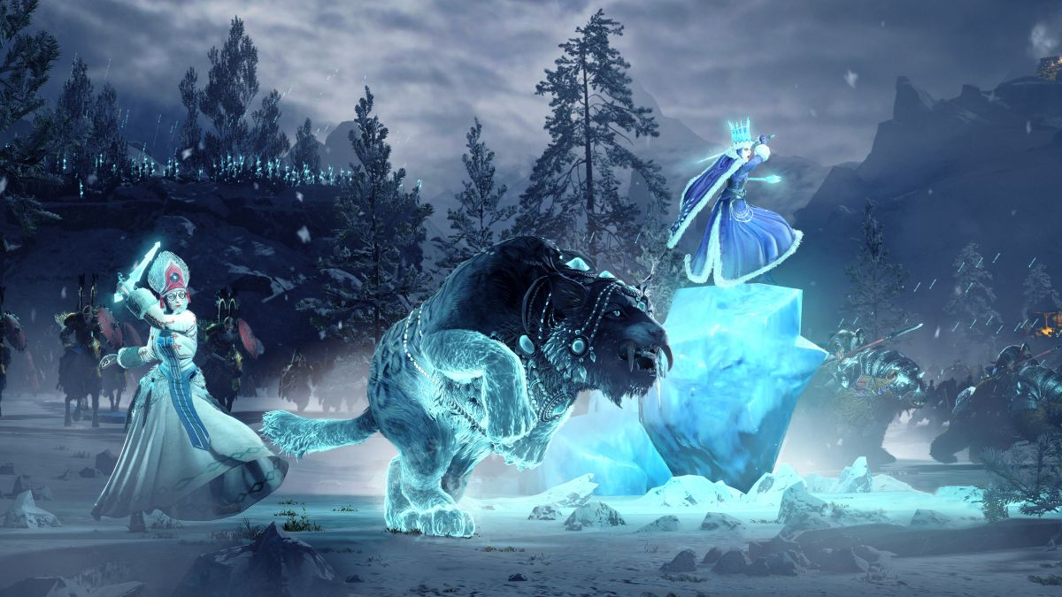 Total War: Warhammer 3 shows off the ice-wielding, bear-crazy Kislev