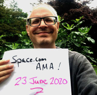 Astrophysicist Joe Pesce of the National Science Foundation is taking your cosmic questions in Space.com's Forums!
