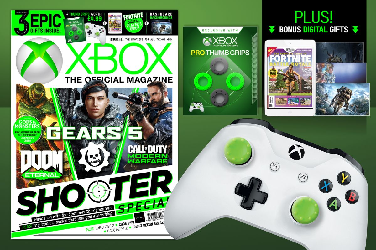 Gears 5, Modern Warfare and Doom Eternal head up a packed Shooter Special in this month's OXM!