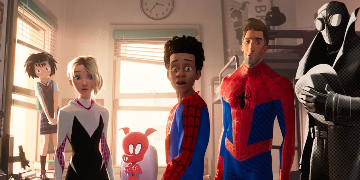 The cast of Spider-Man: Into the Spider-Verse