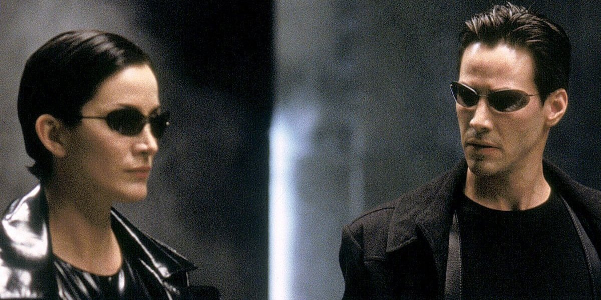 Carrie-Ann Moss, Keanu Reeves - The Matrix