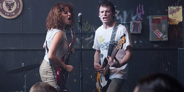 Green Room Alia Shawkat and Anton Yelchin playing together on stage