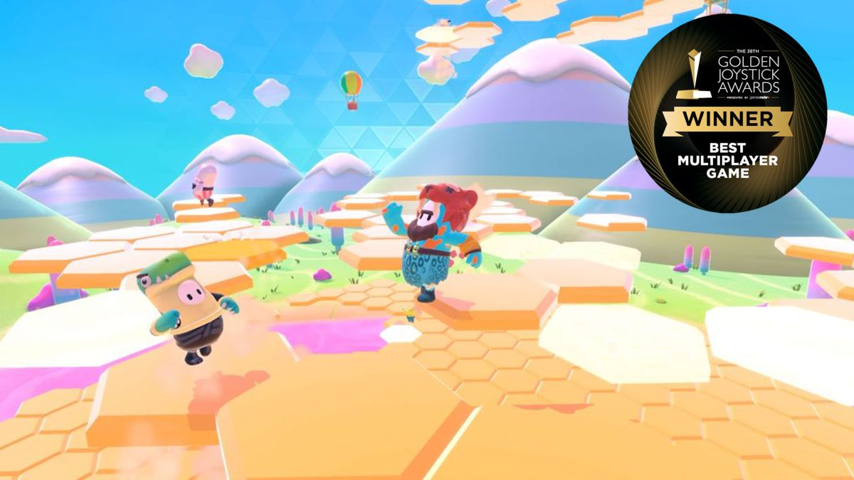 Fall Guys wins Best Multiplayer Game at this year's Golden Joystick Awards