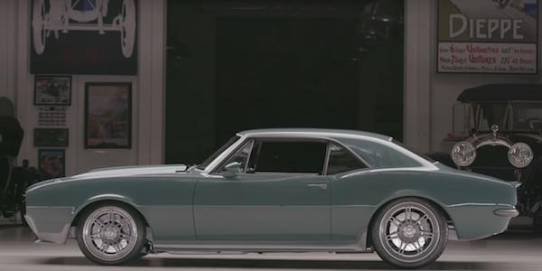 "Jay Leno's Garage, the ""Steve Rogers"" 1967 Camaro"
