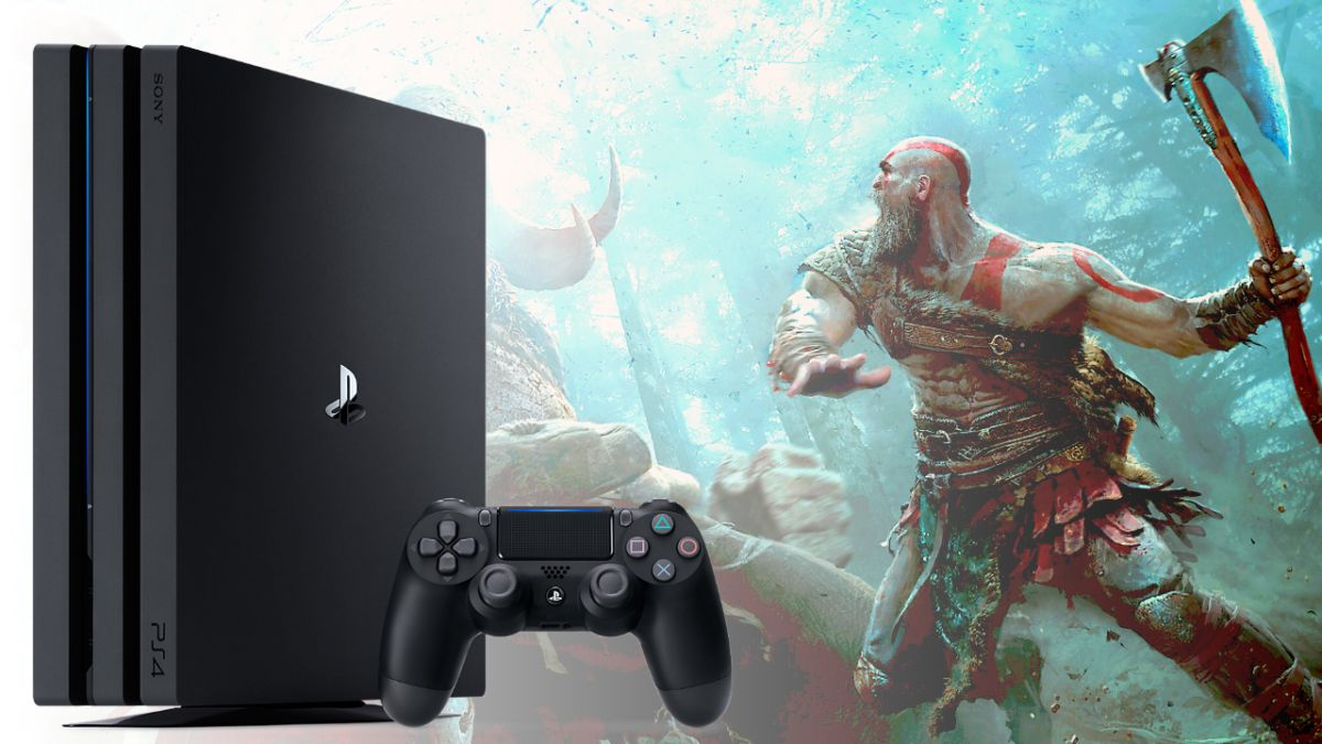 BOY! Get a PS4 Pro with God of War and Days Gone for only $350 right now