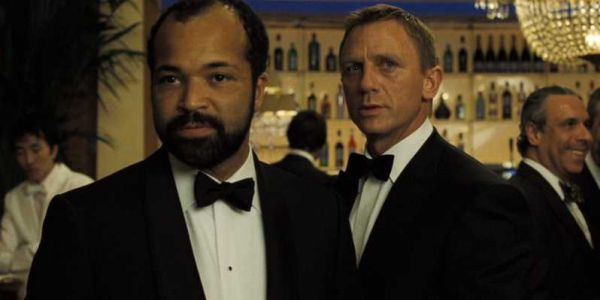 Jeffrey Wright and Daniel Craig together in Casino Royale