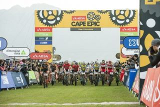 Stage 1 of Cape Epic gets underway in Saronsberg in 2019