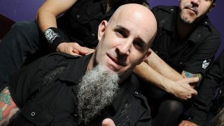 A press shot of scott ian