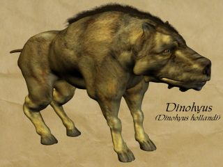 Dinohyus hollandi, hell pig