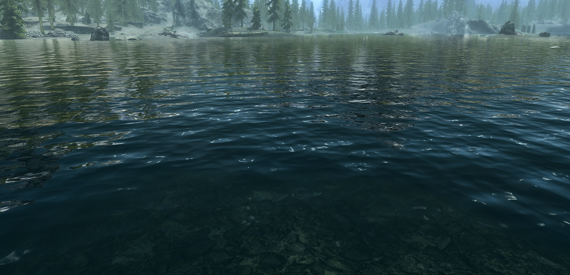 Skyrim Special Edition mod - Realistic Water Two
