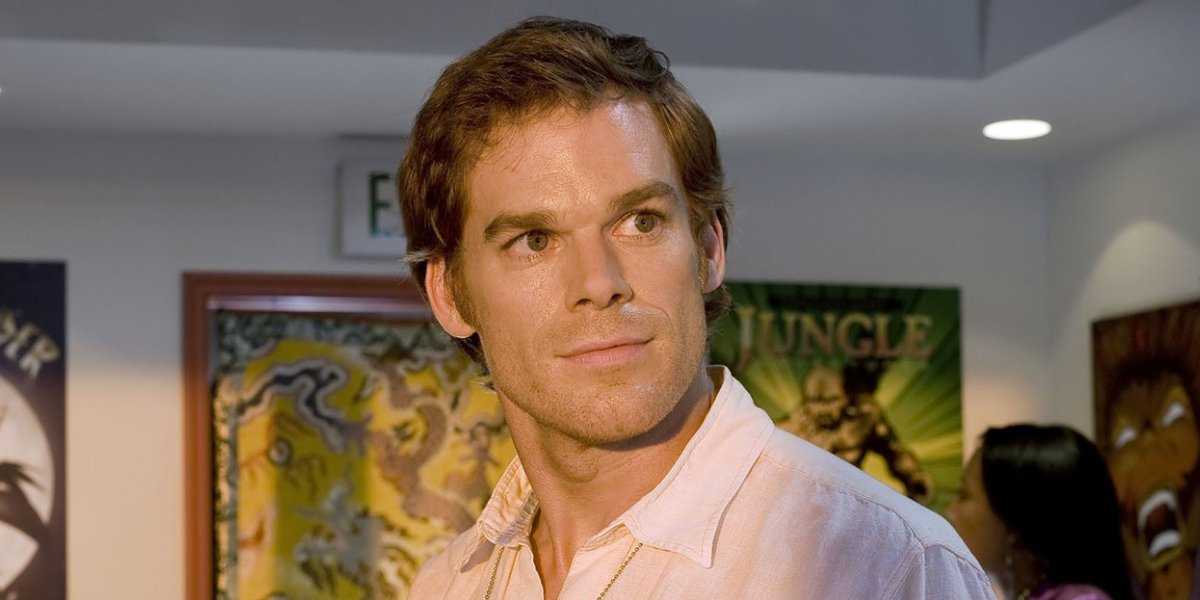 Michael C. Hall as Dexter Morgan on Dexter