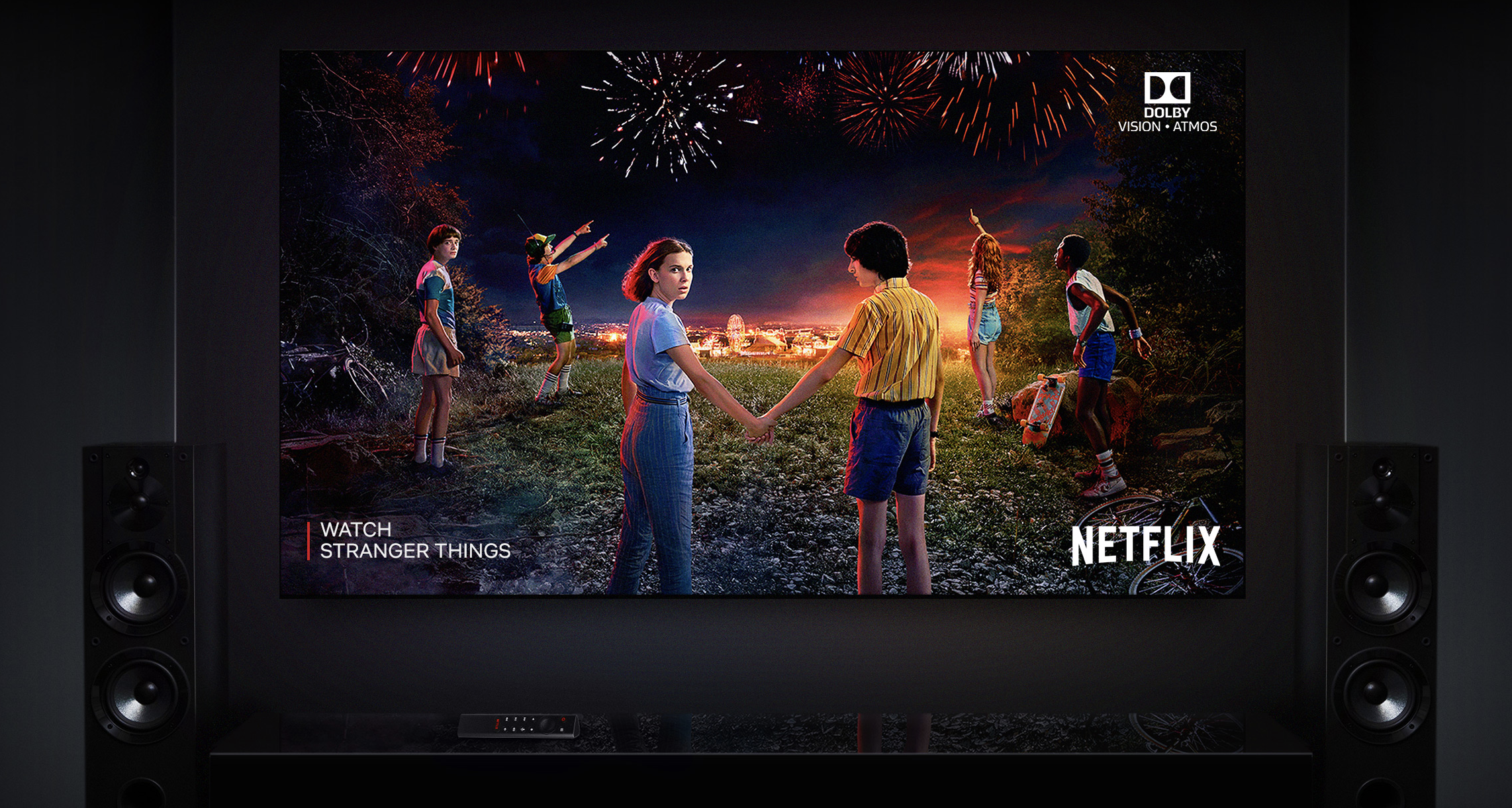 Watching Stranger Things on Netflix thanks to the Nvidia Shield TV Pro