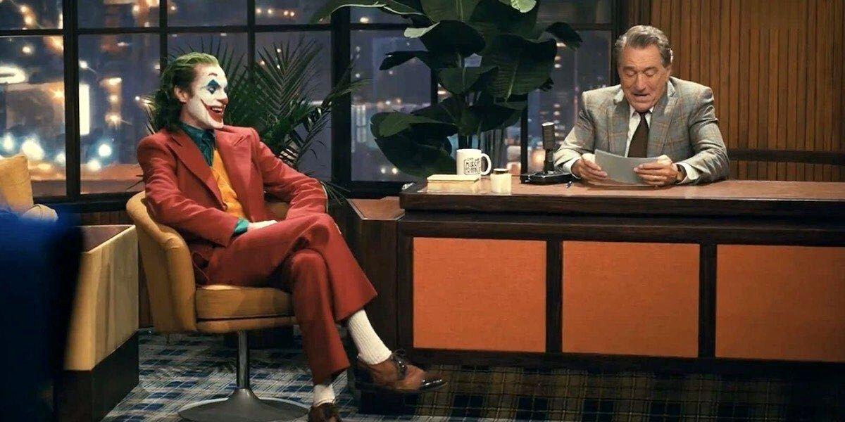 Joaquin Pheonix and Robert De Niro in Joker