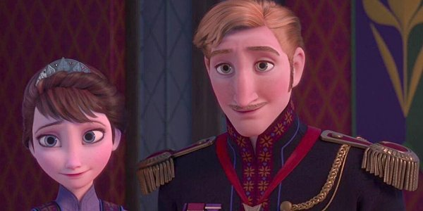 King Agnarr and Queen Iduna of Arendelle in Frozen
