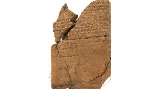 Assyrian demon tablet