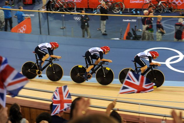 London 2012 Olympic Games, track day three evening session