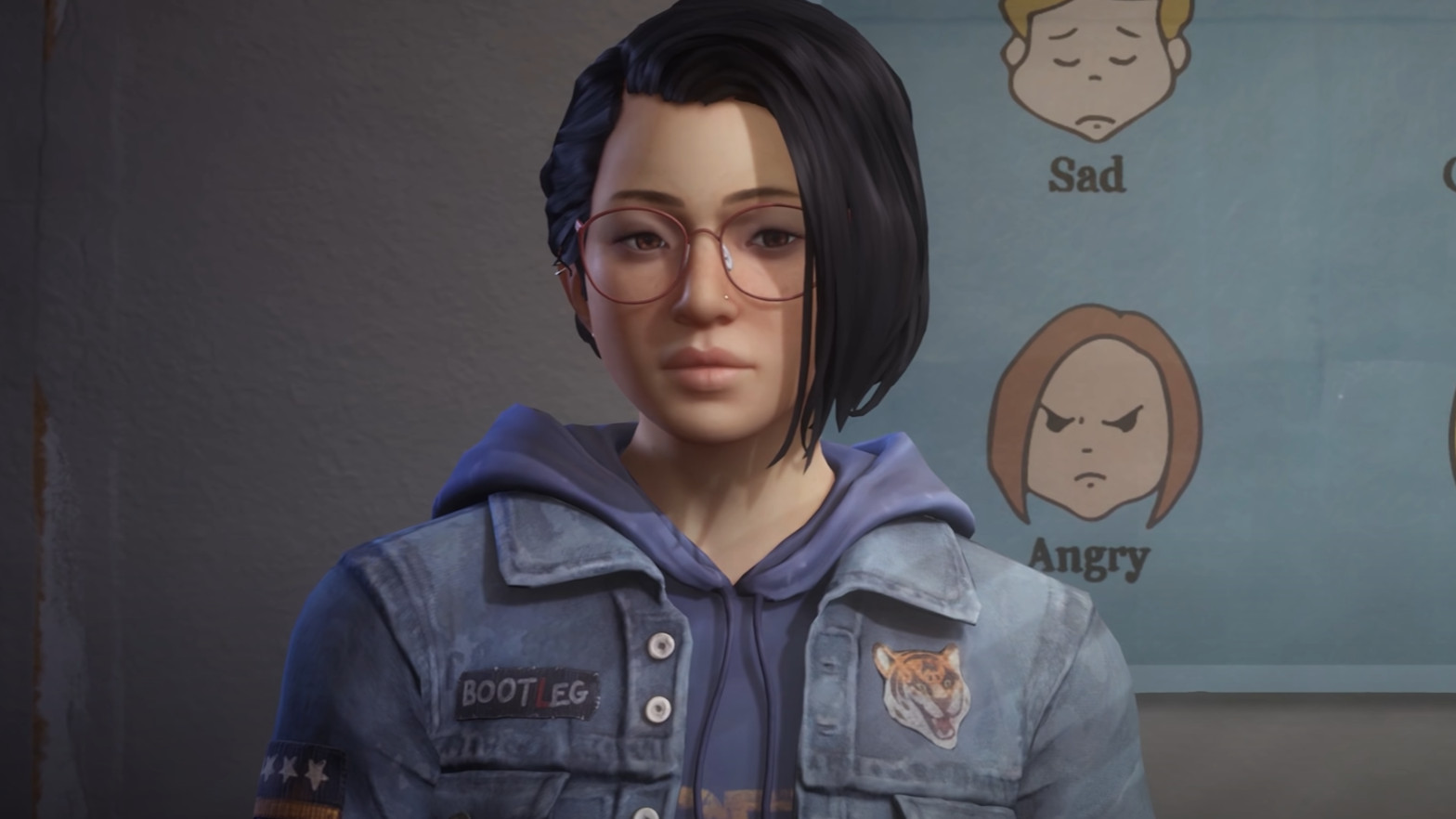 Life Is Strange: True Colors' protagonist Alex looks at the camera.