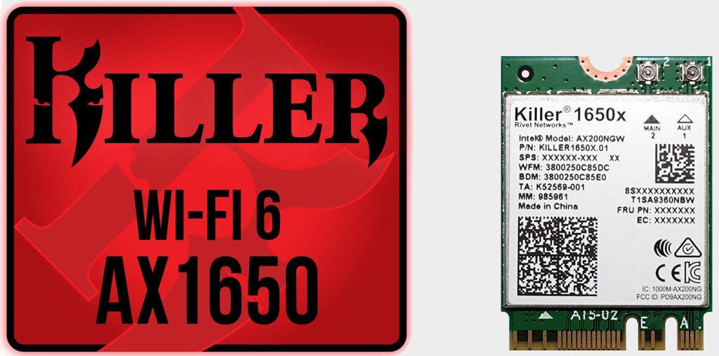 Killer AX1650 Wi-Fi 6 adapter is built on Intel tech | PC Gamer