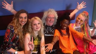 Brian May and Kings Daughters launch video for their feelgood new ...