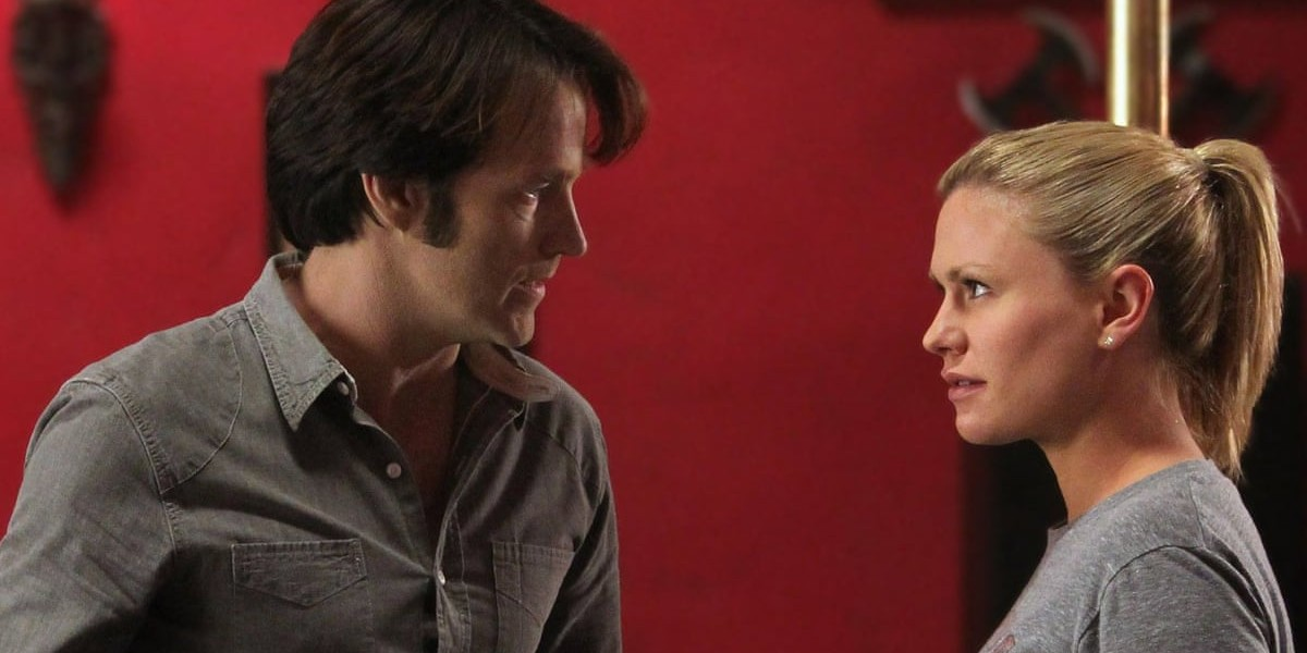 Stephen Moyer and Anna Paquin in True Blood