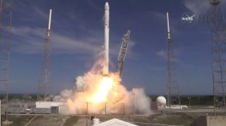 SpaceX Falcon 9 CRS-6 Launch April 14, 2015