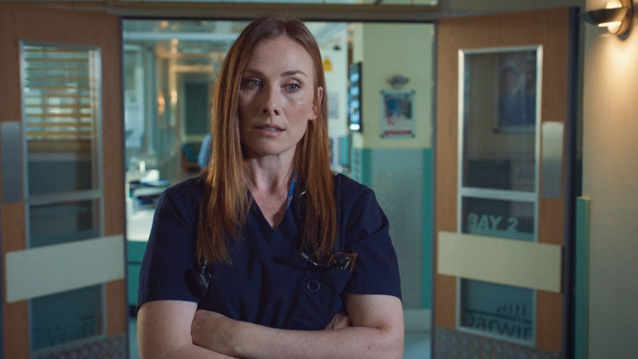 Holby Jac Naylor Kian drugs