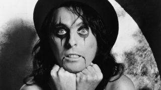 Alice Cooper pictured in 1972