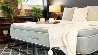 The new sustainable Brooklyn Bedding EcoSleep Luxe Hybrid Mattress