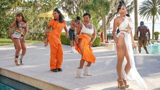 From left: Eve, Brandy, Naturi Naughton, and Nadine Velazquez in ABC's 'Queens'