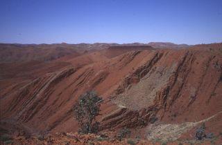 oldest rocks in the desert in northwestern Australia.