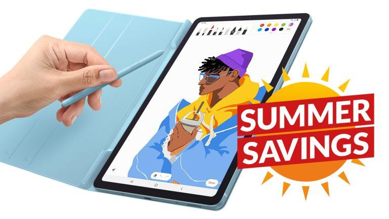 Samsung Galaxy Tab S6 Lite Currys Summer Sale
