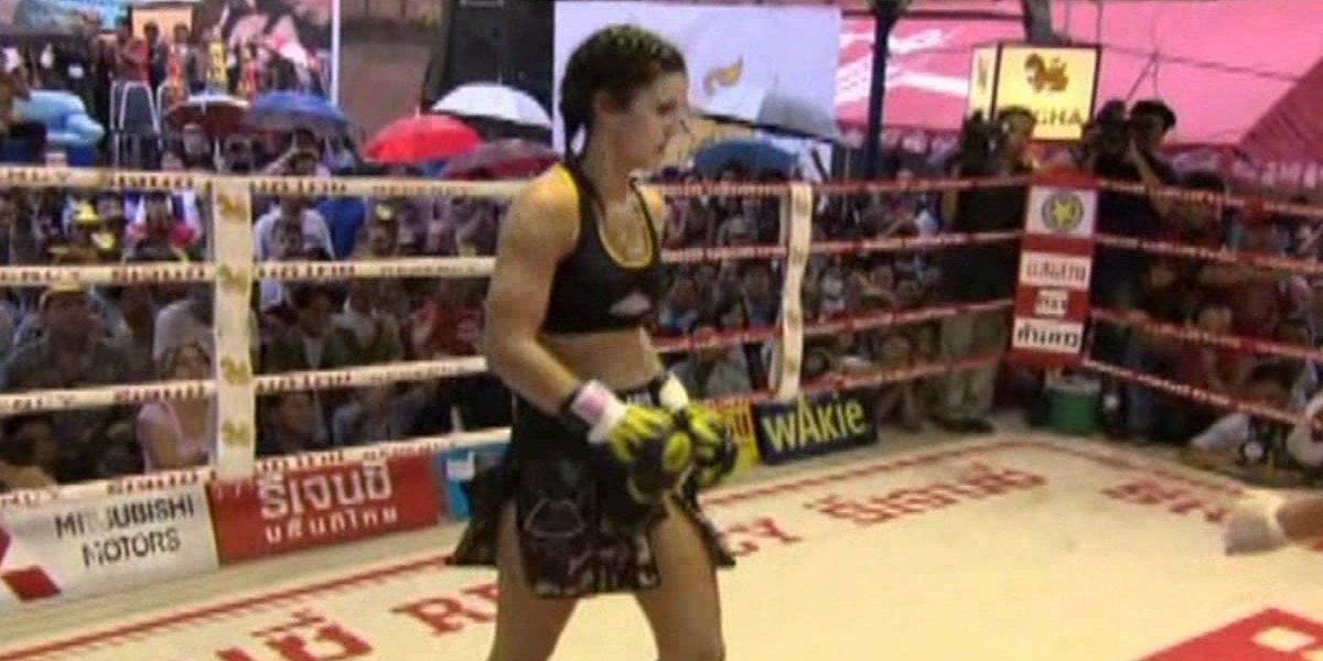 Gina Carano in Ring Girls