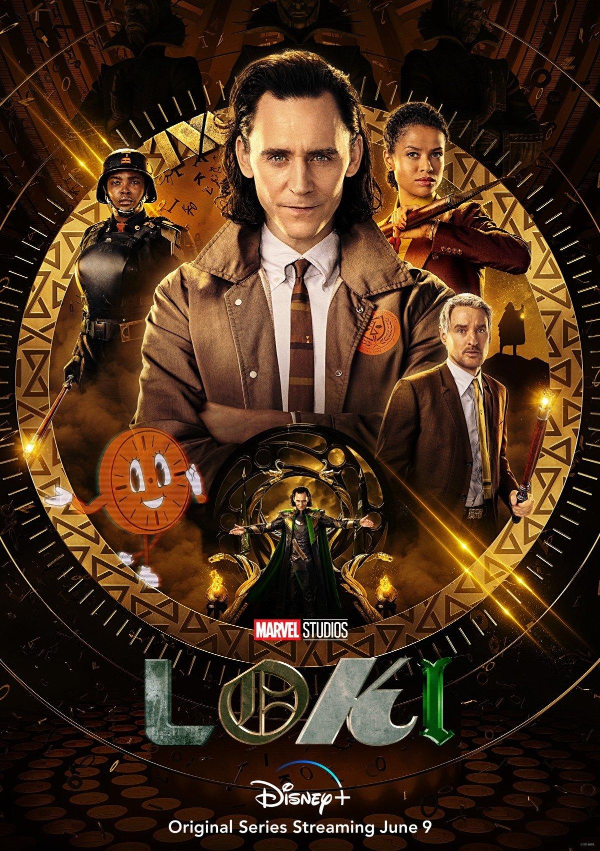 Loki Poster for Disney+ Series