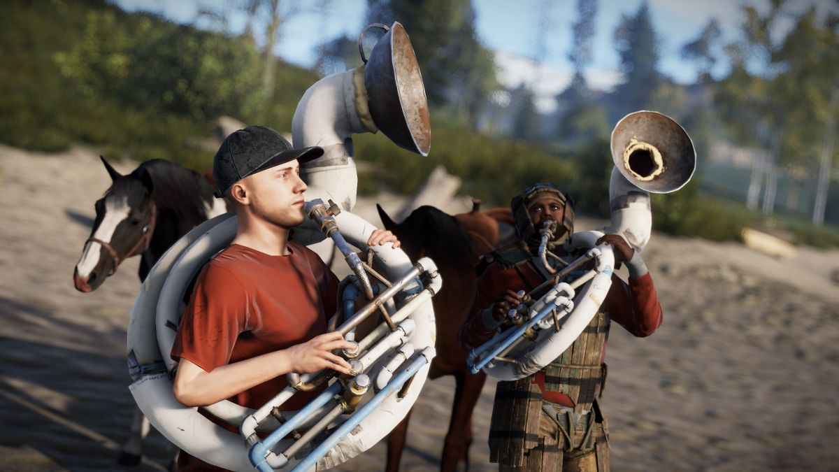 Rust is getting its first paid DLC: musical instruments