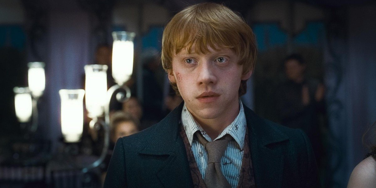 Rupert Grint as Ron Weasley in Harry Potter and the Deathly Hallows Part 1 (2010)